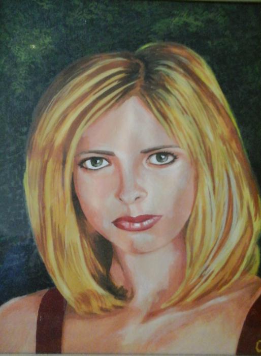 Sarah Michelle Gellar by gerardvankleef